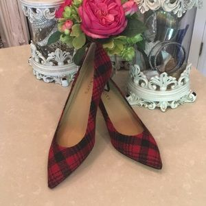 Gorgeous buffalo plaid Talbots shoes